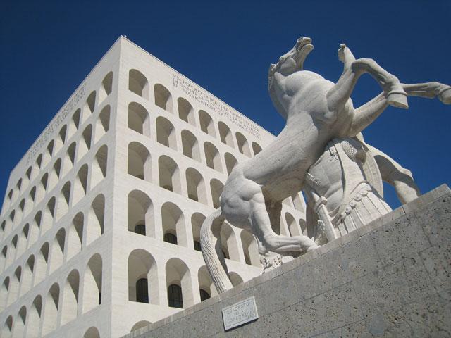 Fascismo le opere del fascismo sociale for Architettura fascista in italia